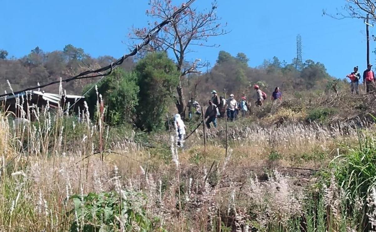 Organizaciones acusan a pobladores de Ixtlán de destruir patrimonio comunitario en Guelatao