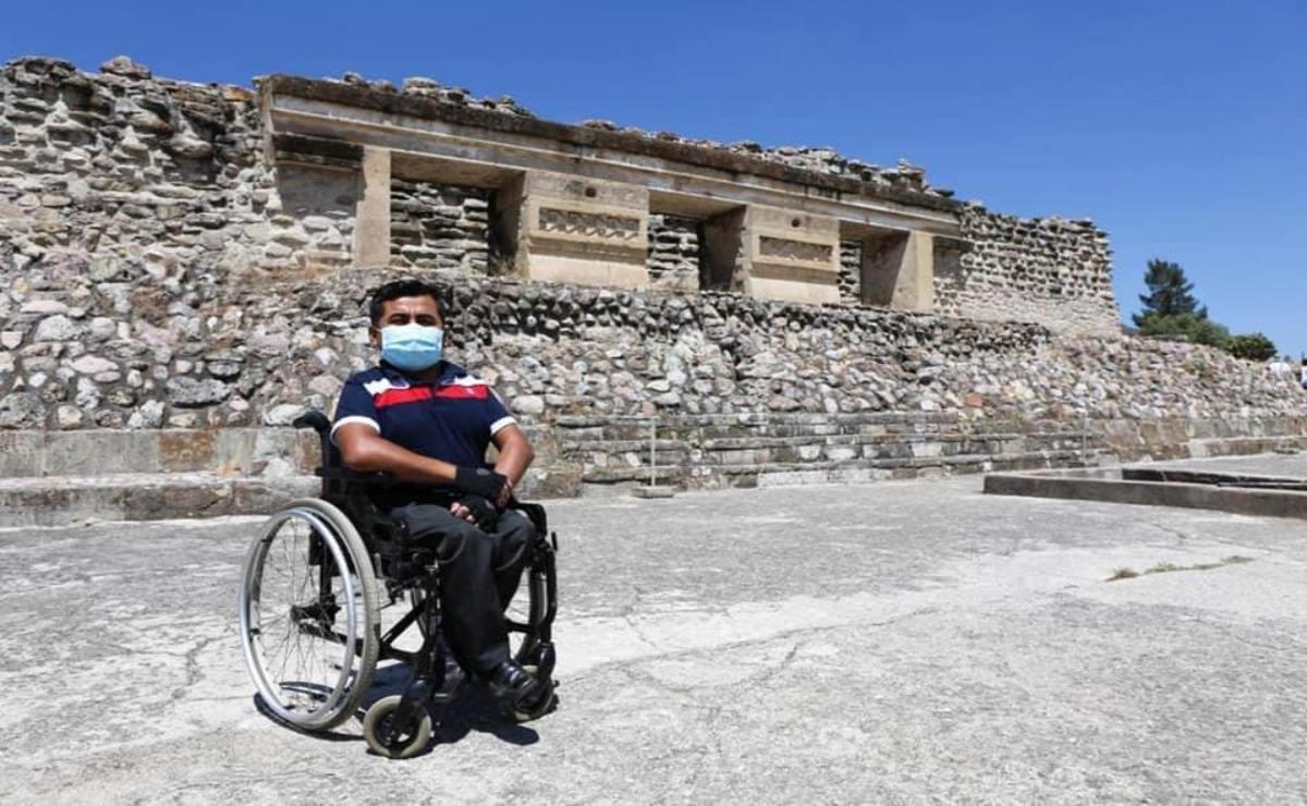 Mitla incluyente: Oaxaca, único estado en contar con dos zonas arqueológicas adaptadas para personas con discapacidad