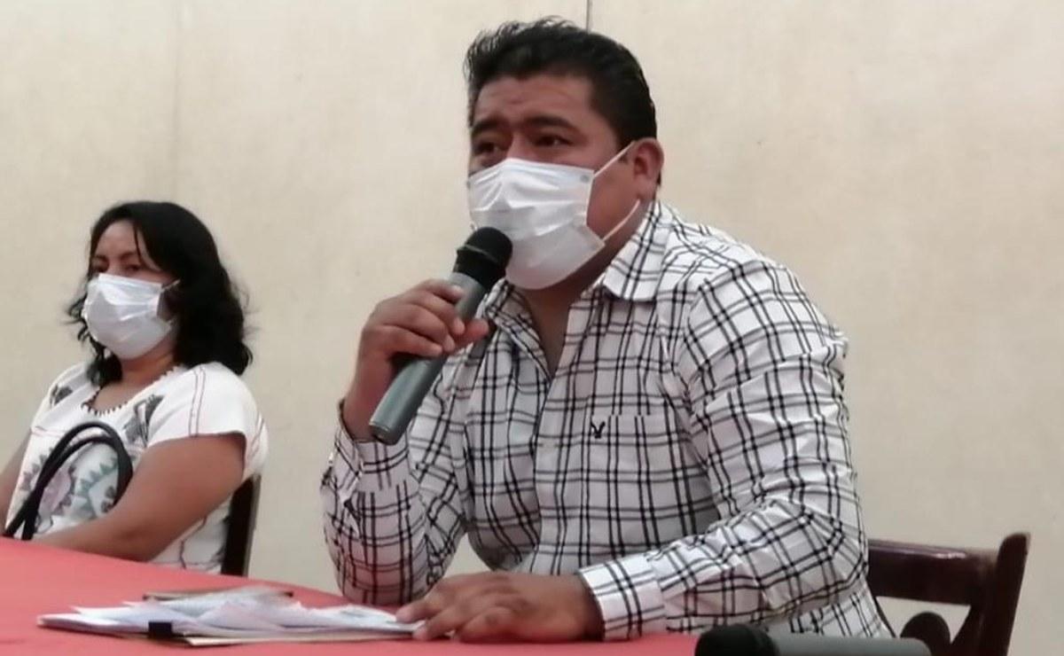 Asegura precandidato de Morena en Oaxaca que chat para exhibir a mujeres mixes no existió, acusa campaña en su contra