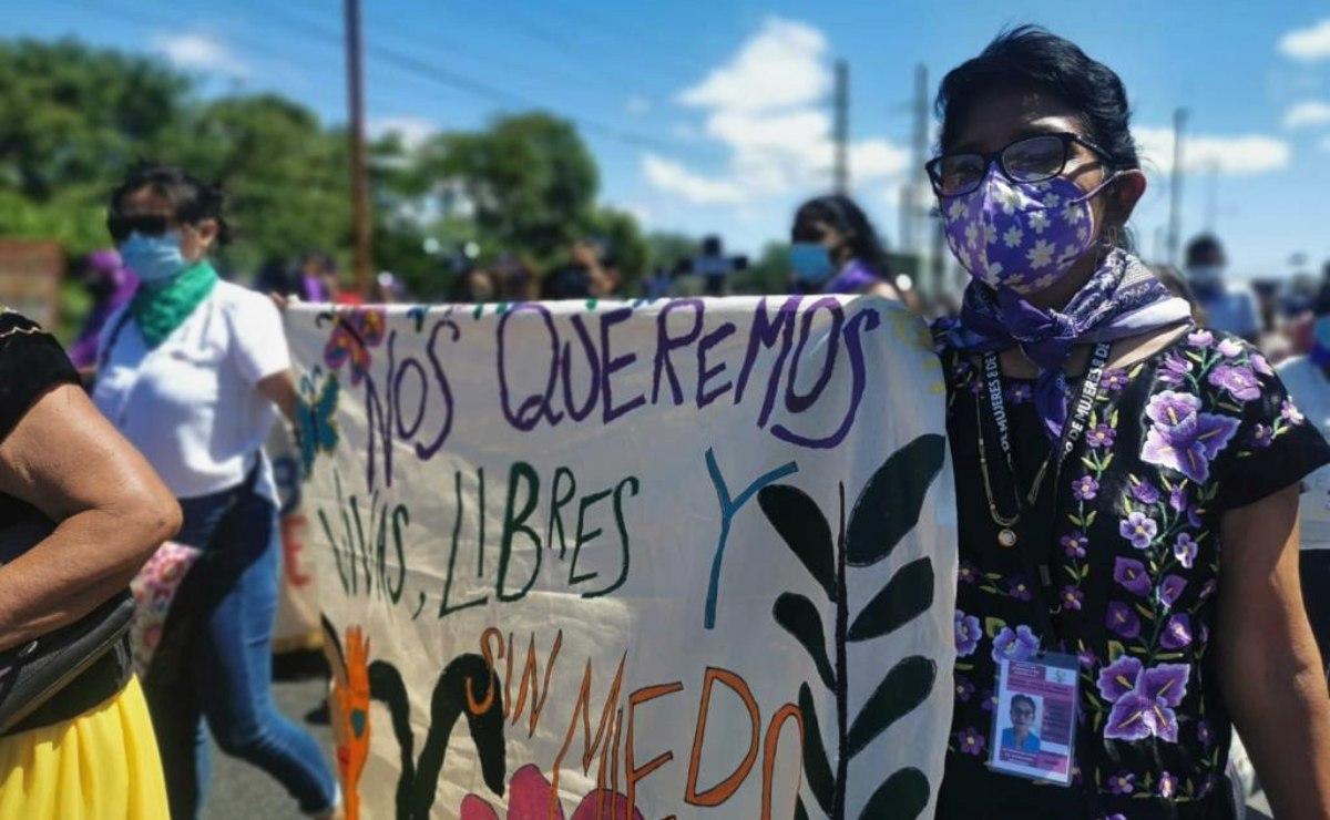 """Víctima de chat XXX en Oaxaca recibe protección de CNDH e INPI; aspirante de Morena dice que """"no existen"""""""