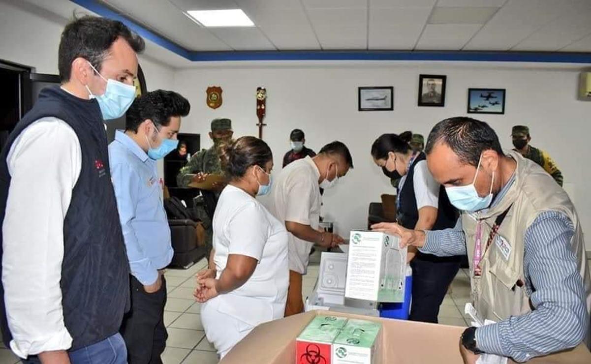 """""""No queremos privilegios, sólo que nos vacunen"""", dicen administrativos y médicos de centros de salud del Istmo"""
