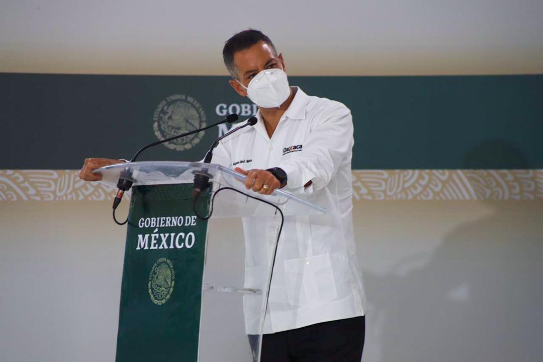 Refrenda Murat política social de la 4T; la mayor reducción de pobreza extrema fue en Oaxaca, destaca