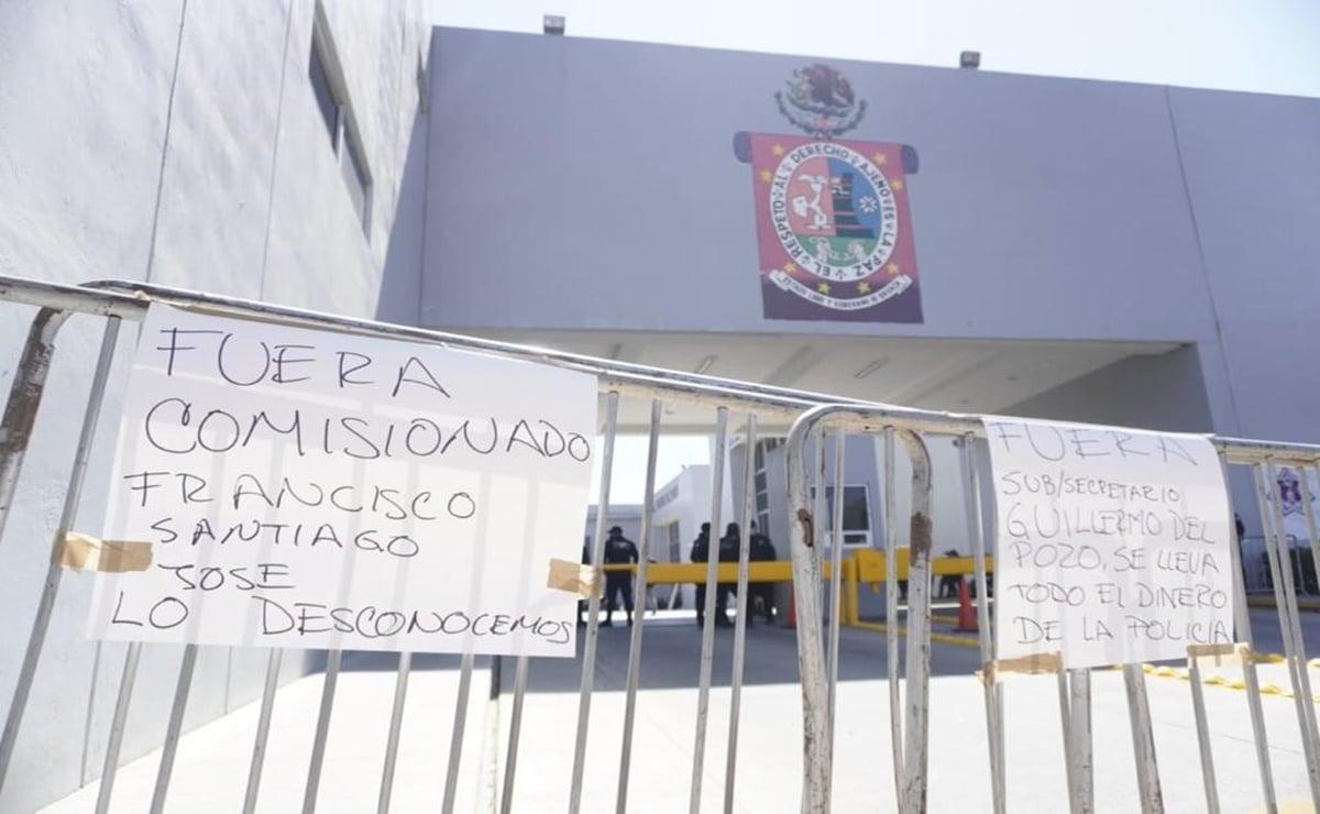 Policías estatales de Oaxaca se declaran en paro de labores, acusan violaciones a derechos humanos