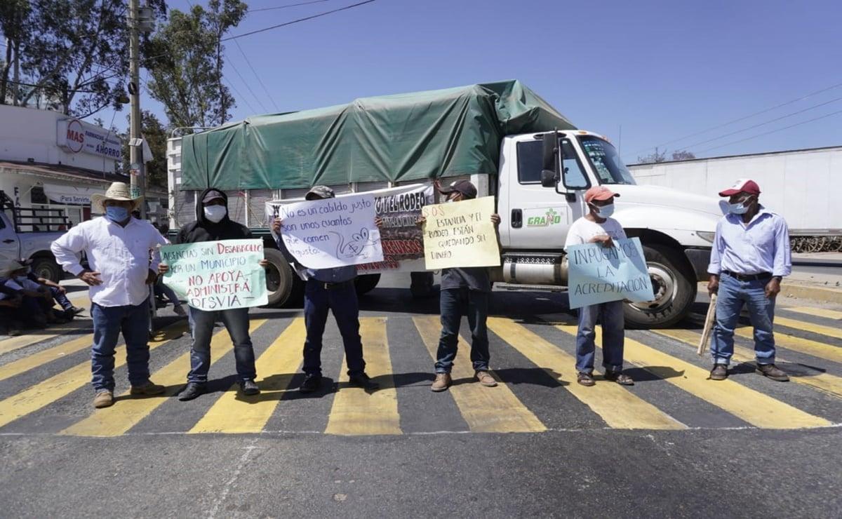 Se intensifican en Oaxaca protestas de pobladores que exigen destitución de edil de Atitlán