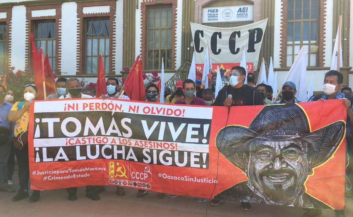 A 7 meses del asesinato de Tomás Martínez, FPR pide justicia a nuevo fiscal de Oaxaca