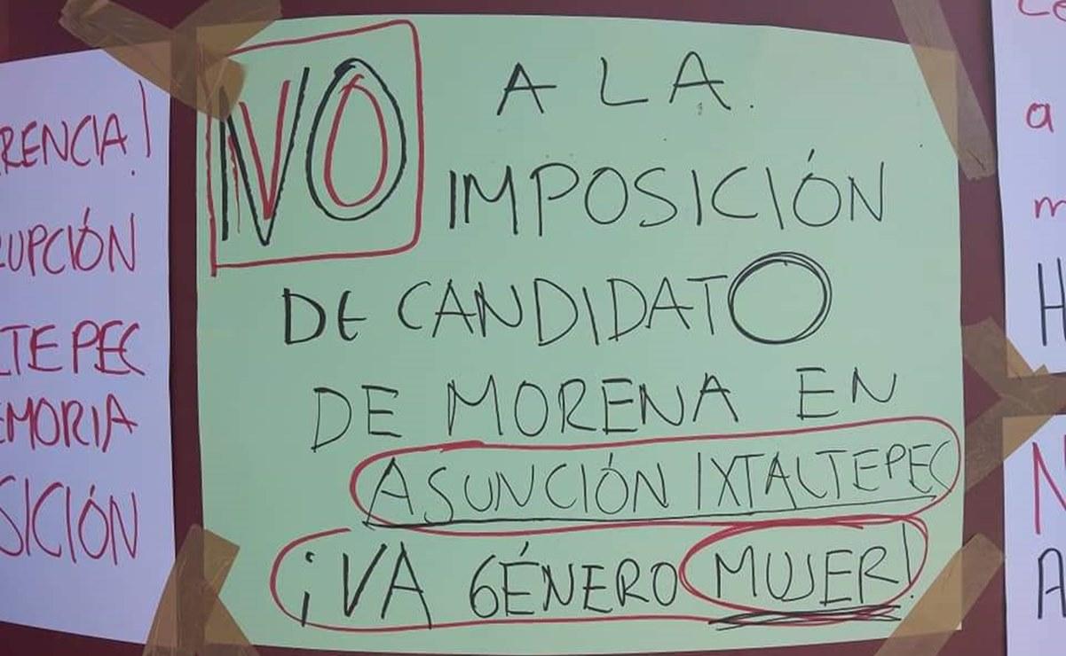 Aspirante a edil de Morena por Ixtaltepec presenta denuncia por violencia política de género
