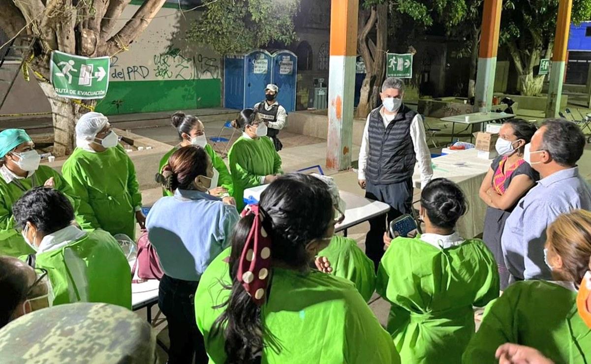 Llegan a Oaxaca más de 59 mil dosis contra Covid; reconocen SSO trabajo de brigadas de vacunación