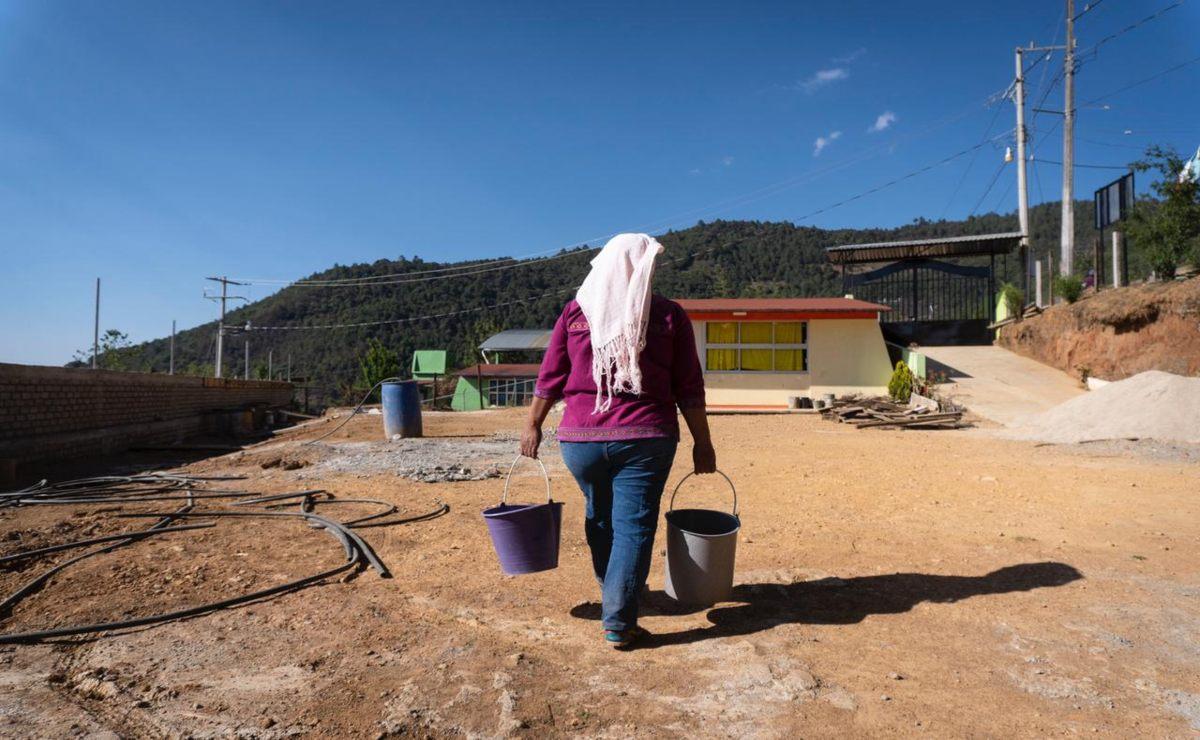 Un pozo no apaga la sed de casi 4 años de Ayutla Mixe; falta de agua complica hasta obras de la 4T