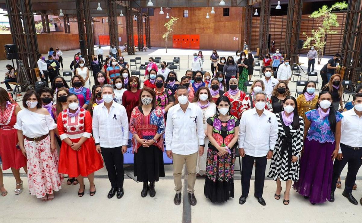 Presenta Murat programa de atención a víctimas indirectas y sobrevivientes de feminicidios en Oaxaca