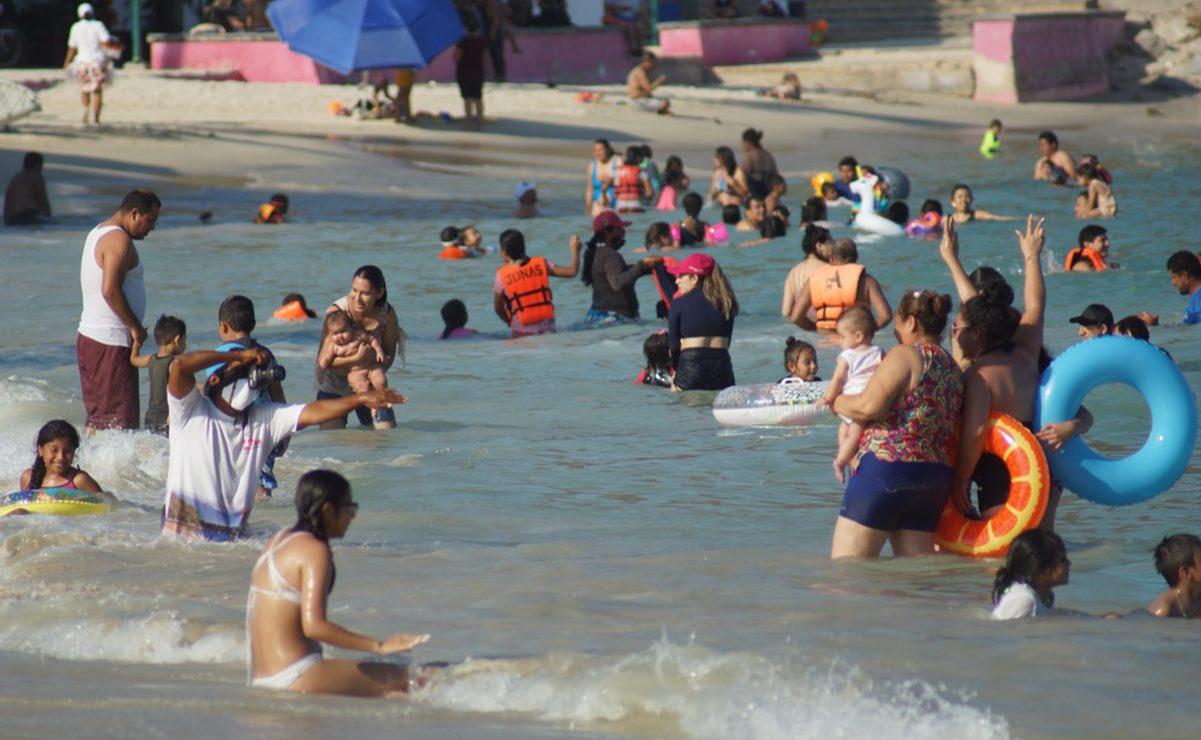 Ante ausencia de turismo internacional, familias salvan economía de Huatulco; alcanza apenas 31% de ocupación