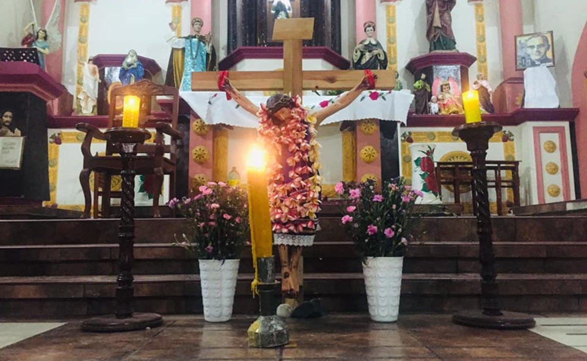Semana Santa en línea: Por pandemia, jóvenes zapotecos del Istmo de Oaxaca adaptan ritos religiosos
