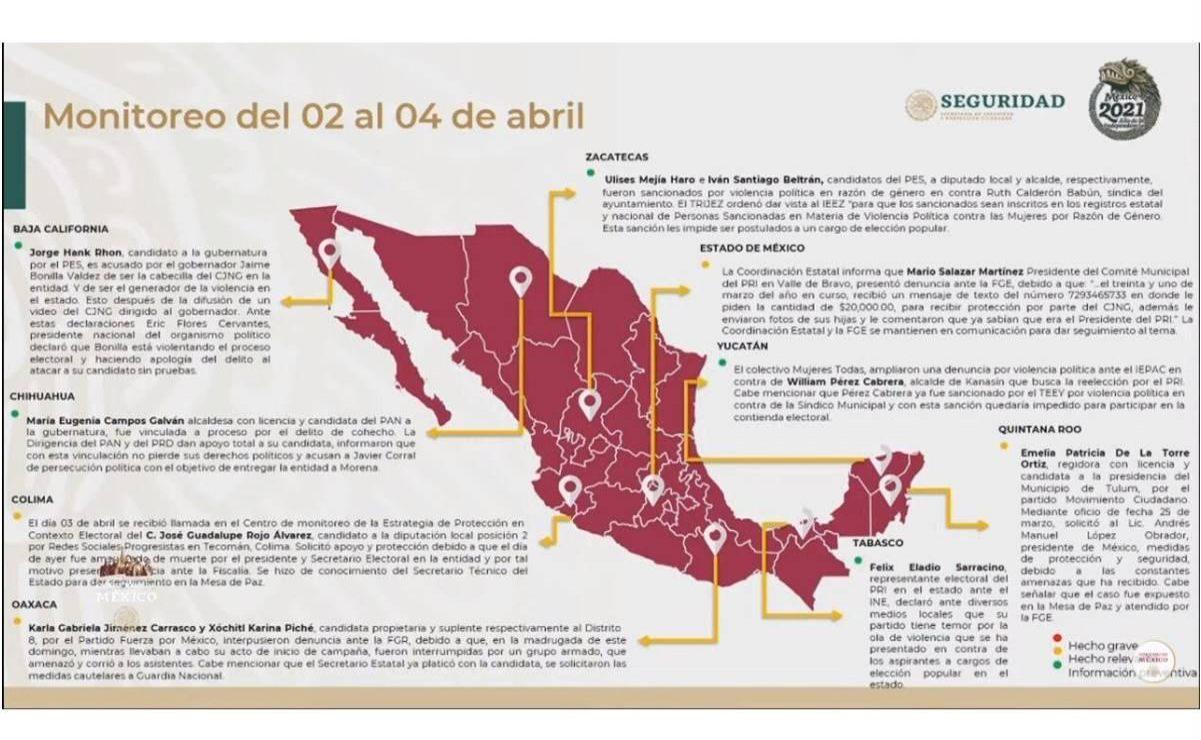 Candidatas a diputadas federales por Oaxaca interponen denuncia ante FGR por amenazas de grupo armado