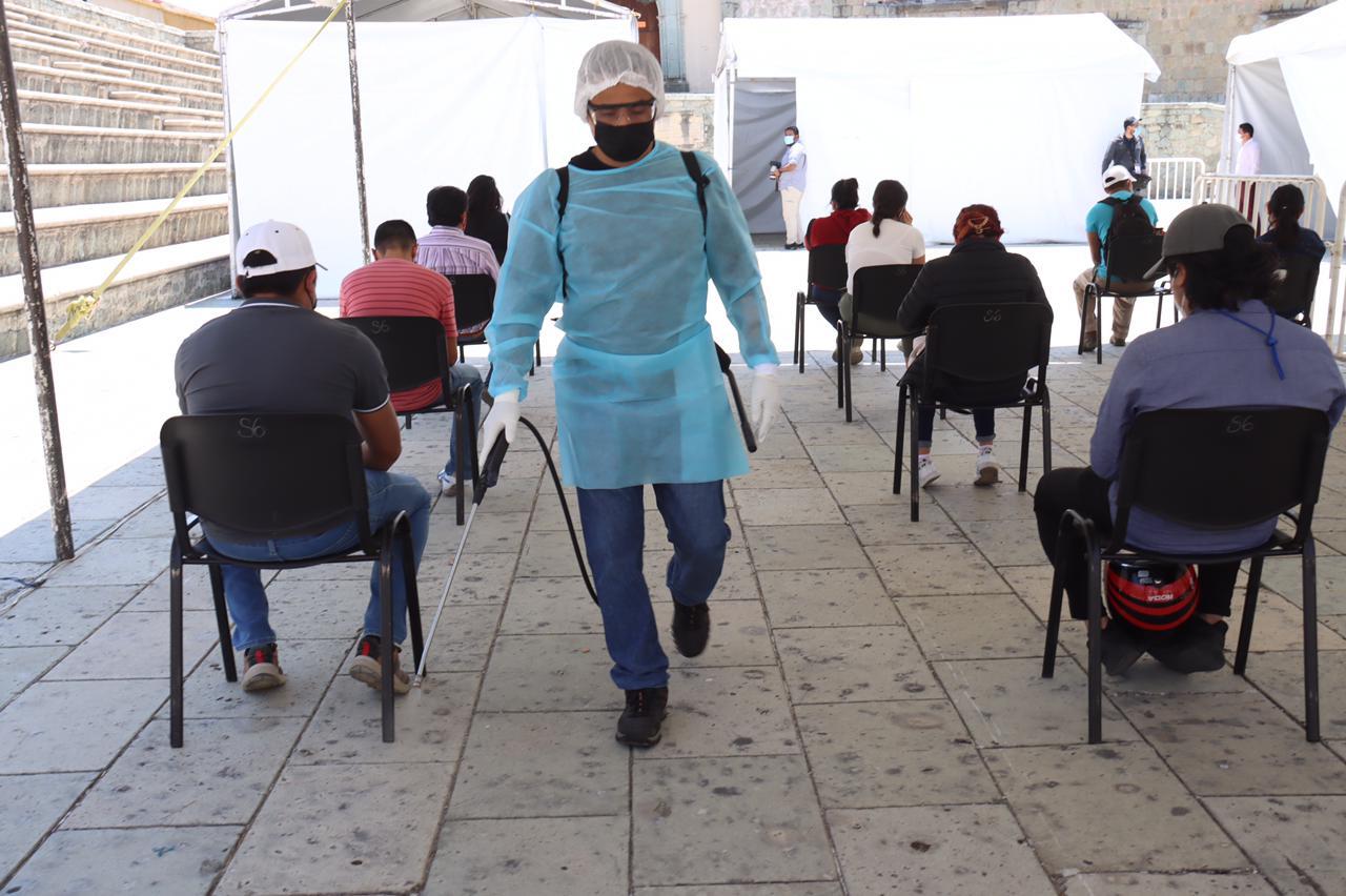 Acumula Oaxaca más de 44 mil casos por pandemia; reporta 202 nuevos contagios en un día