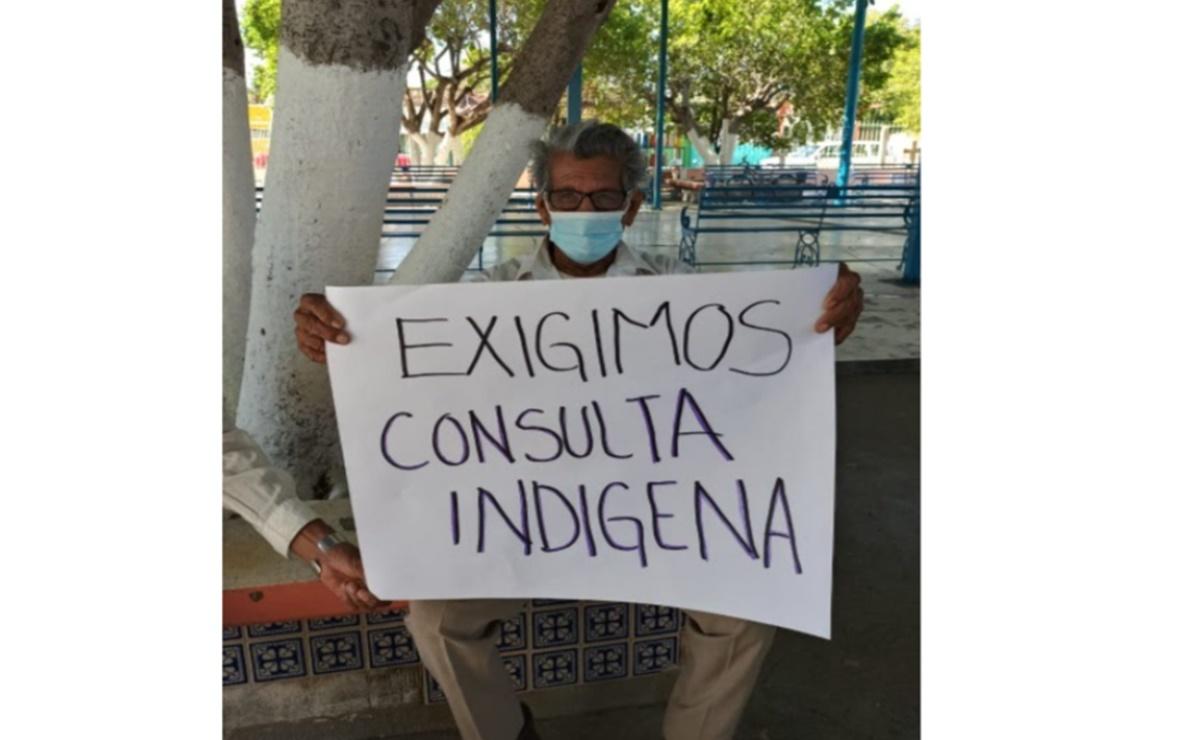 En Oaxaca, pobladores de Mixtequilla exigen información sobre proyecto minero del Interoceánico