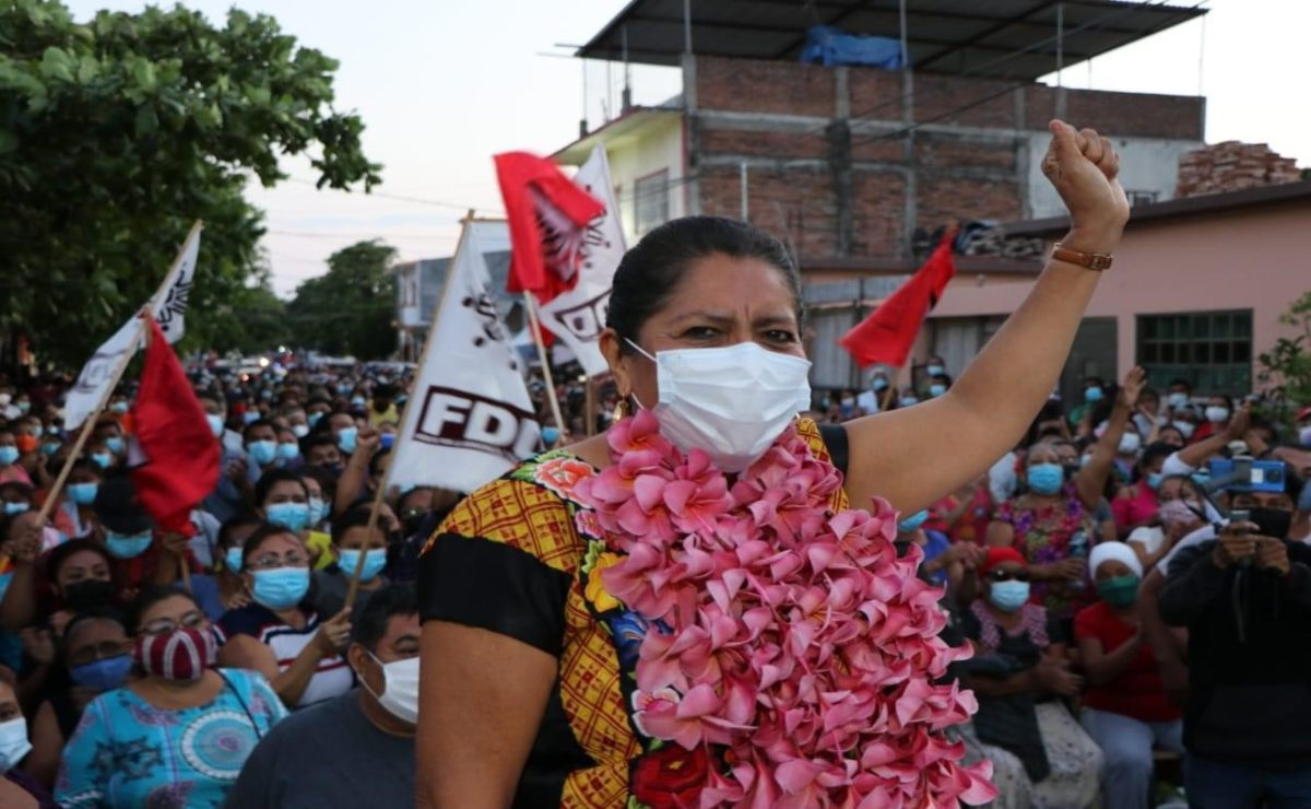 """""""Yo fui víctima de violencia política de género de parte de líderes de Morena en Oaxaca"""""""