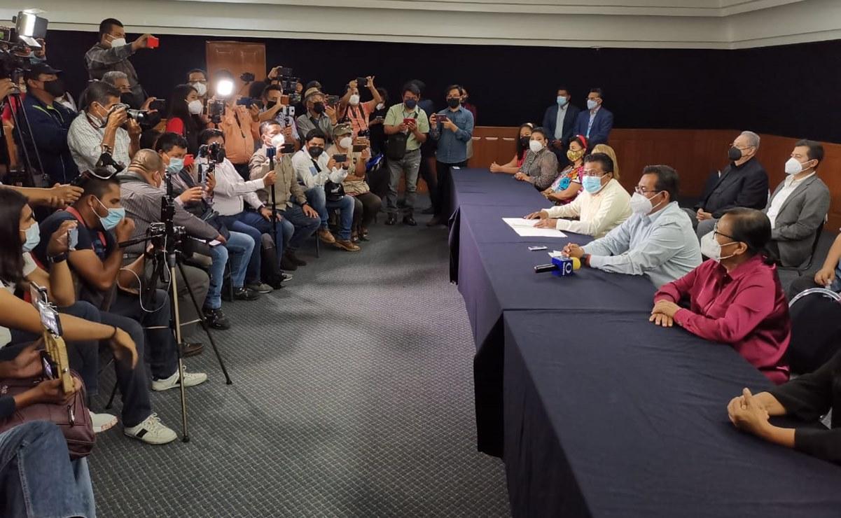 Destituyen a coordinadora de Morena en el Congreso de Oaxaca; acusa violencia política de género