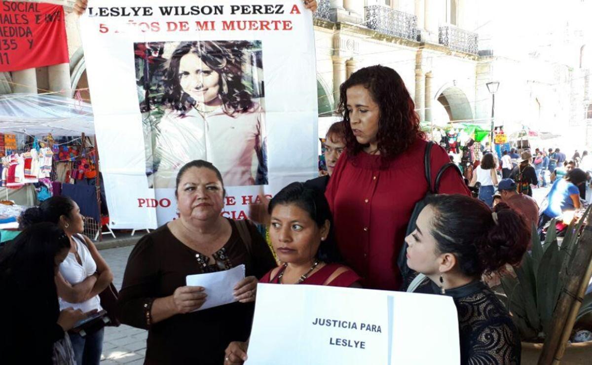 Tras 10 años prófugo, dictan formal prisión en Oaxaca contra presunto asesino de Leslye Wilson