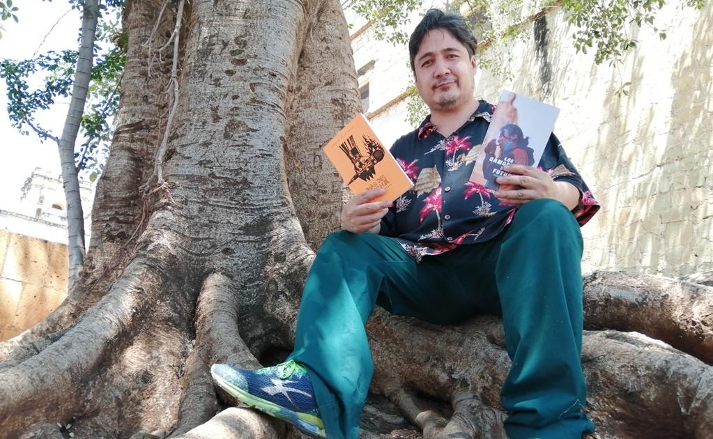 Sin empleo por pandemia, escritor de Oaxaca hace a un lado a editoriales y se abre paso en redes sociales
