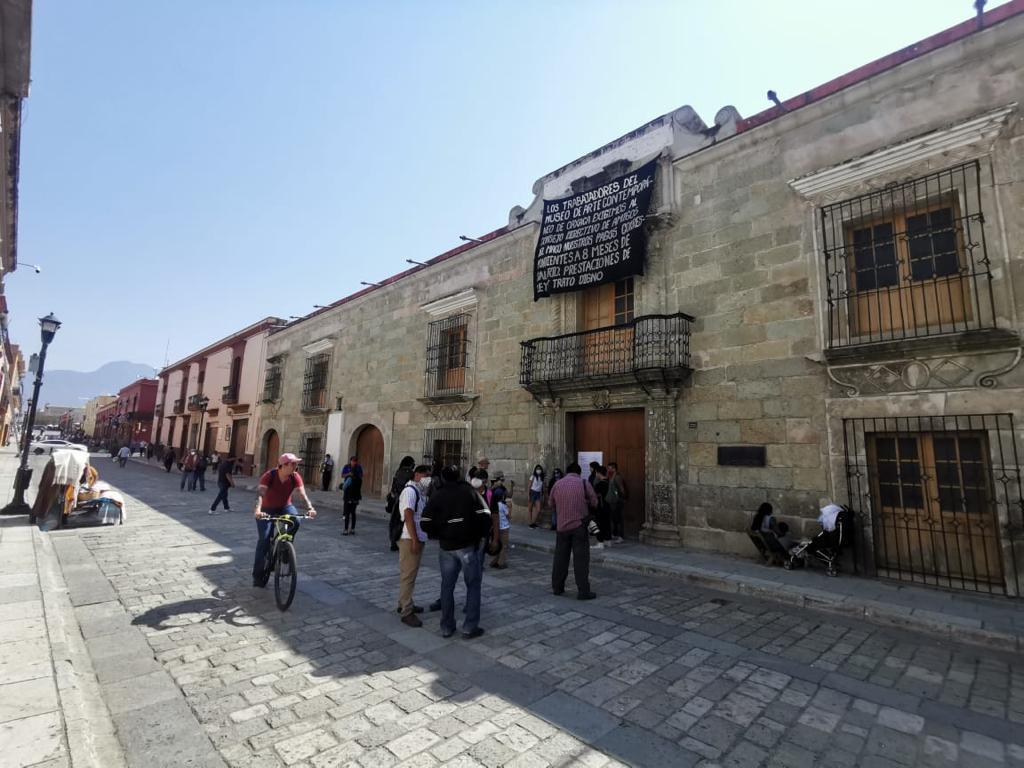Anuncian auditoría y cierre temporal del Museo de Arte Contemporáneo de Oaxaca, por adeudo a empleados