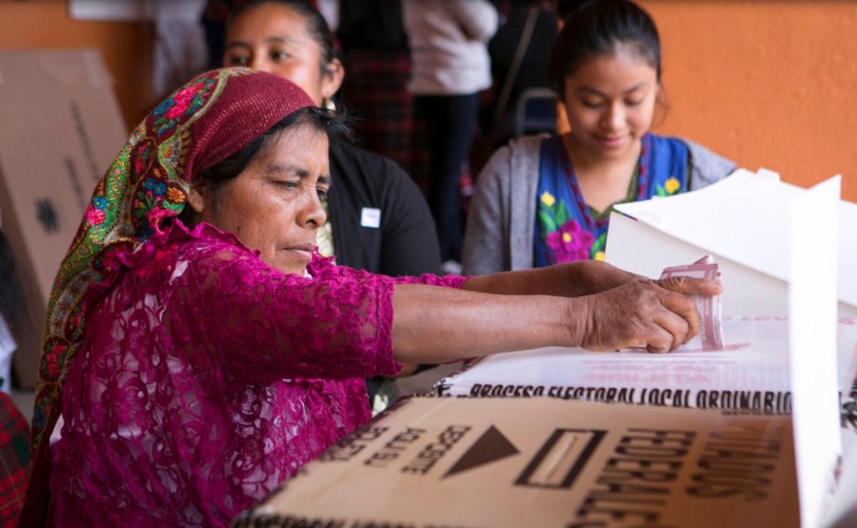 Llaman a partidos a garantizar participación de mujeres indígenas de Oaxaca en proceso electoral 2021