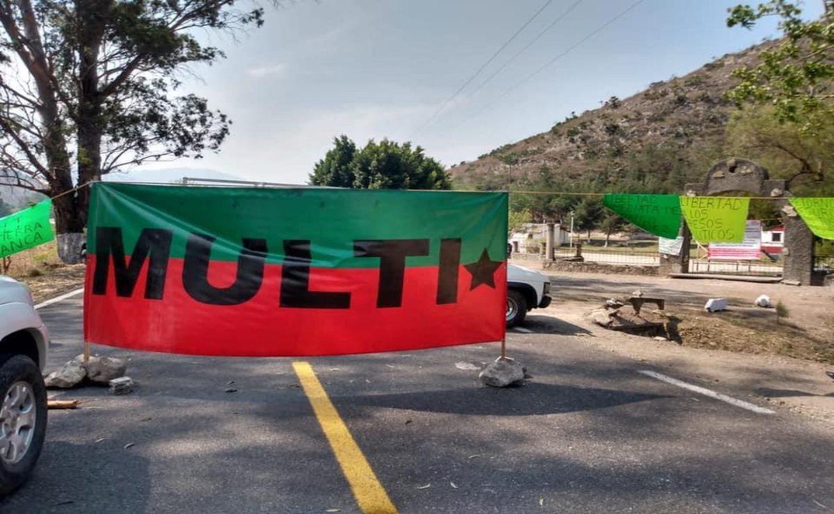 Activan triquis del MULTI movilizaciones en Oaxaca para exigir retorno seguro a Tierra Blanca