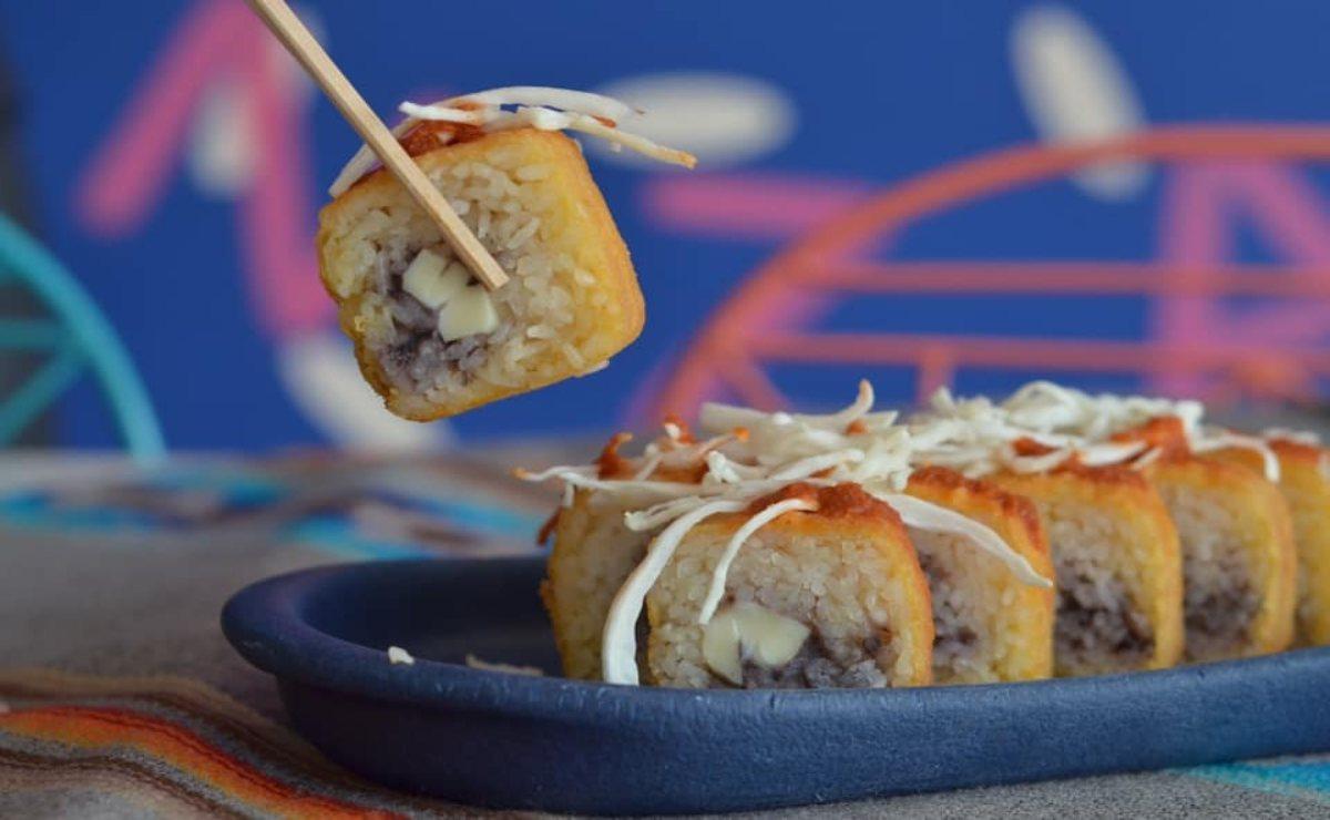 ¿Sushi con alma de tlayuda? Empresarios de CDMX lo hicieron posible en Oaxaca