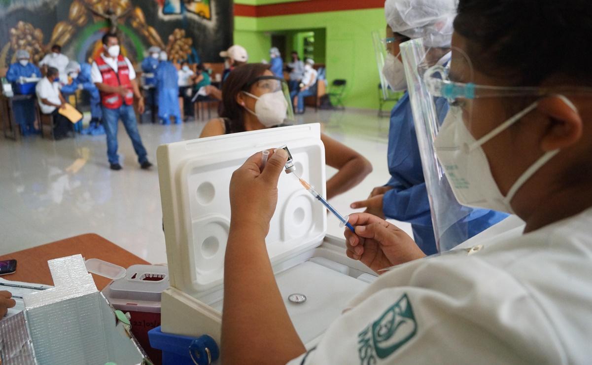 Vacunación contra Covid para maestros inicia el 20 de abril en 5 estados
