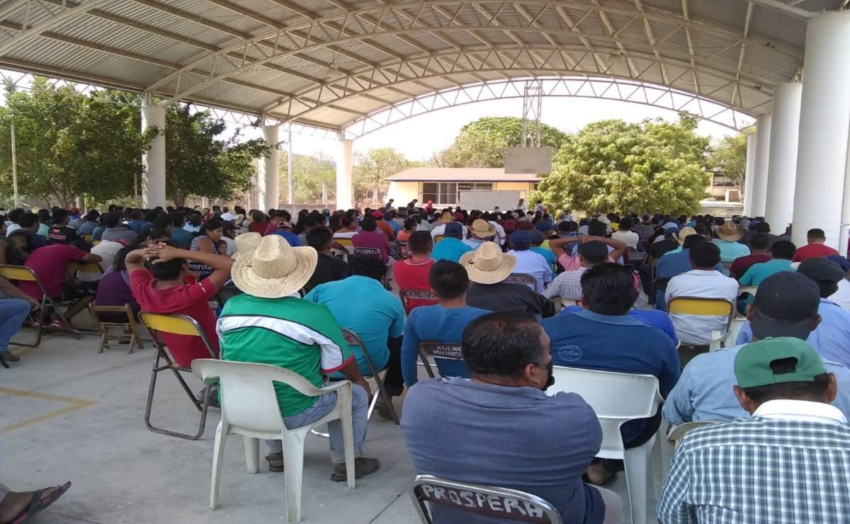 Bajo blindaje, San Mateo del Mar, pueblo ikoots de Oaxaca, decide si revoca mandato de autoridades