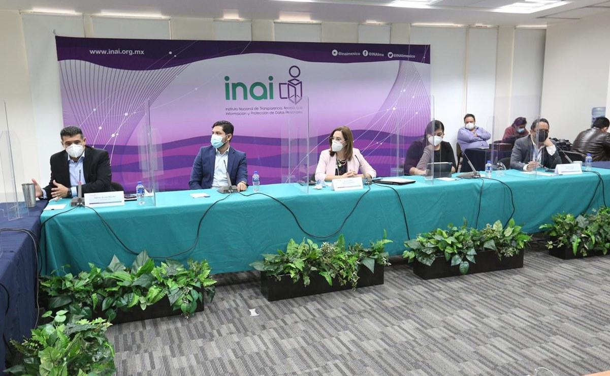 Analizan comisionados del INAI reforma de Morena que desaparece instituto de transparencia de Oaxaca