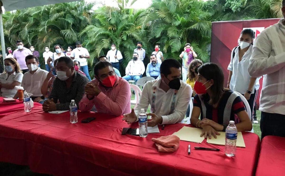 Sistema Anticorrupción pide a FGR investigar a funcionarios de Oaxaca que participaron en acto del PRI