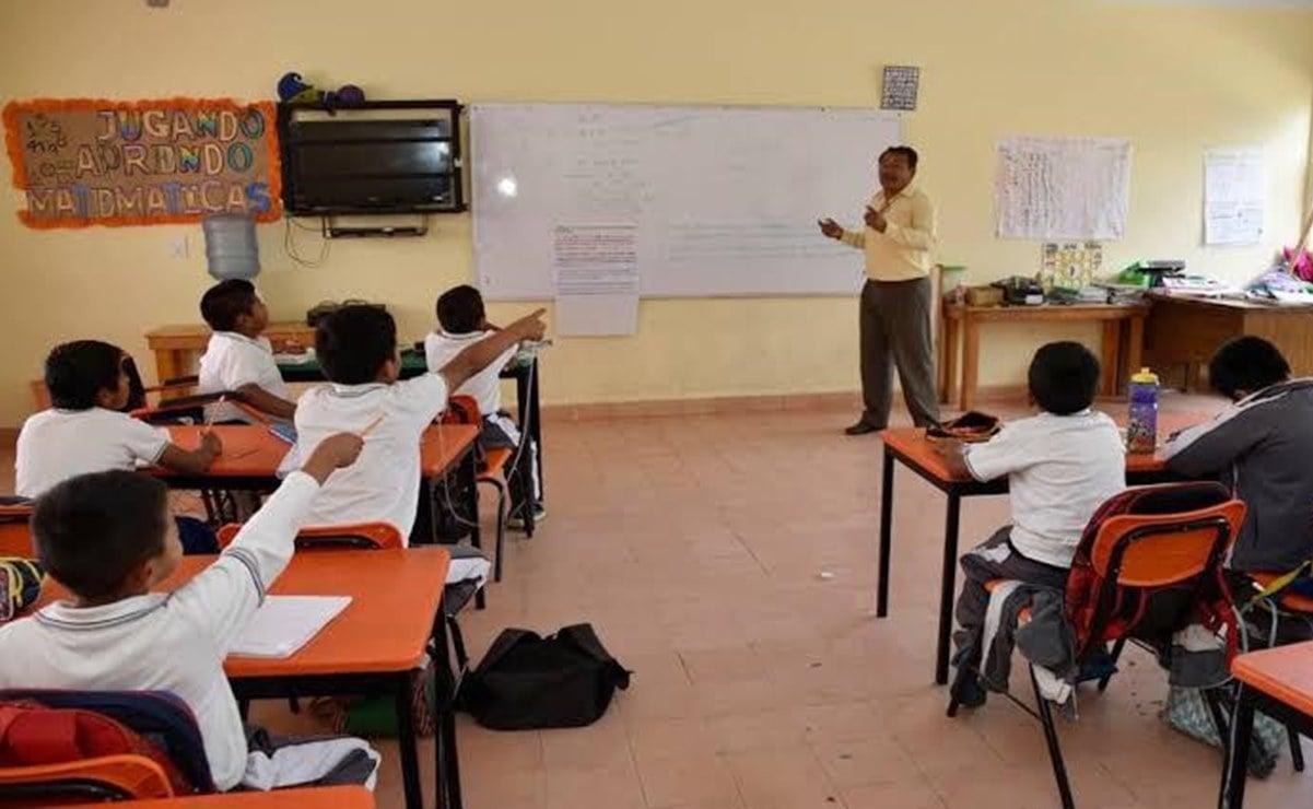La CNTE anuncia que no regresará a clases presenciales en Oaxaca, pese a vacunación a docentes