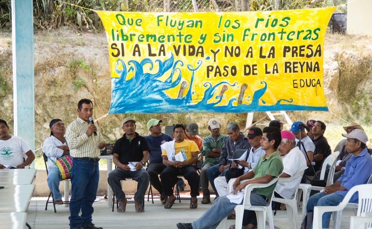 Pese asesinatos de defensores, acusan que seguridad no ha llegado a Paso de la Reyna, en la Costa de Oaxaca