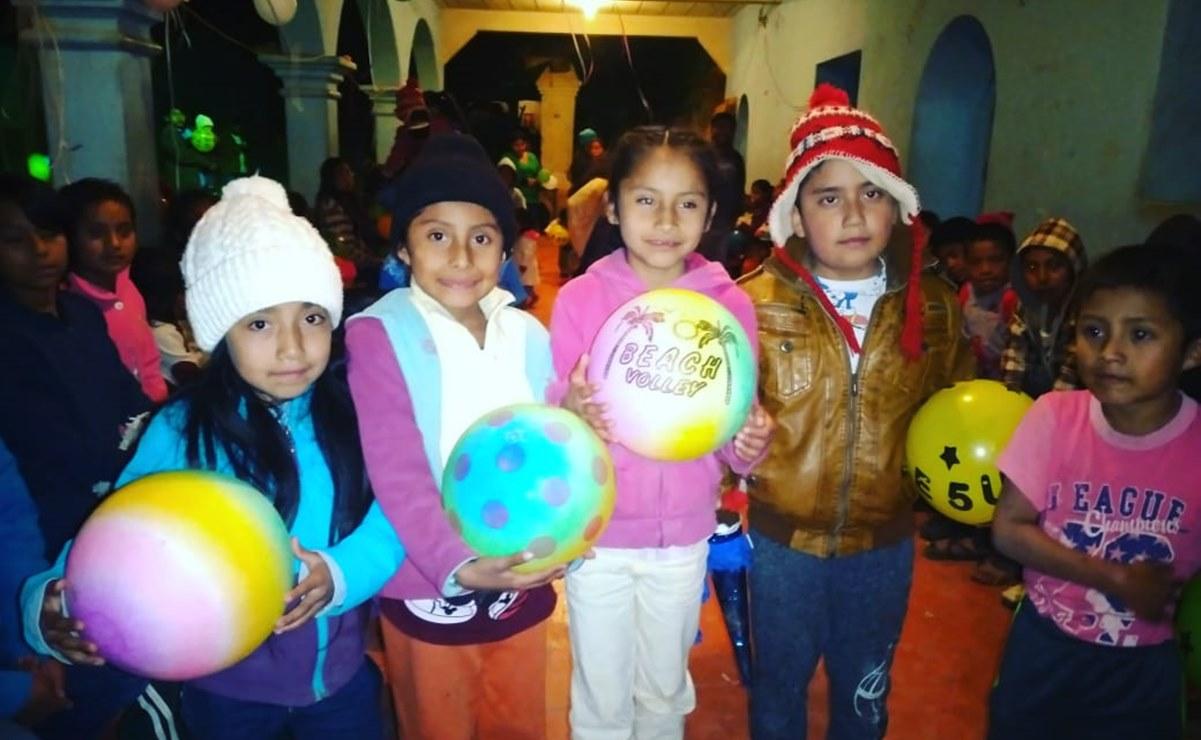 Por Día del Niño, llaman a segunda colecta de juguetes para pequeños de comunidades chontales de Oaxaca
