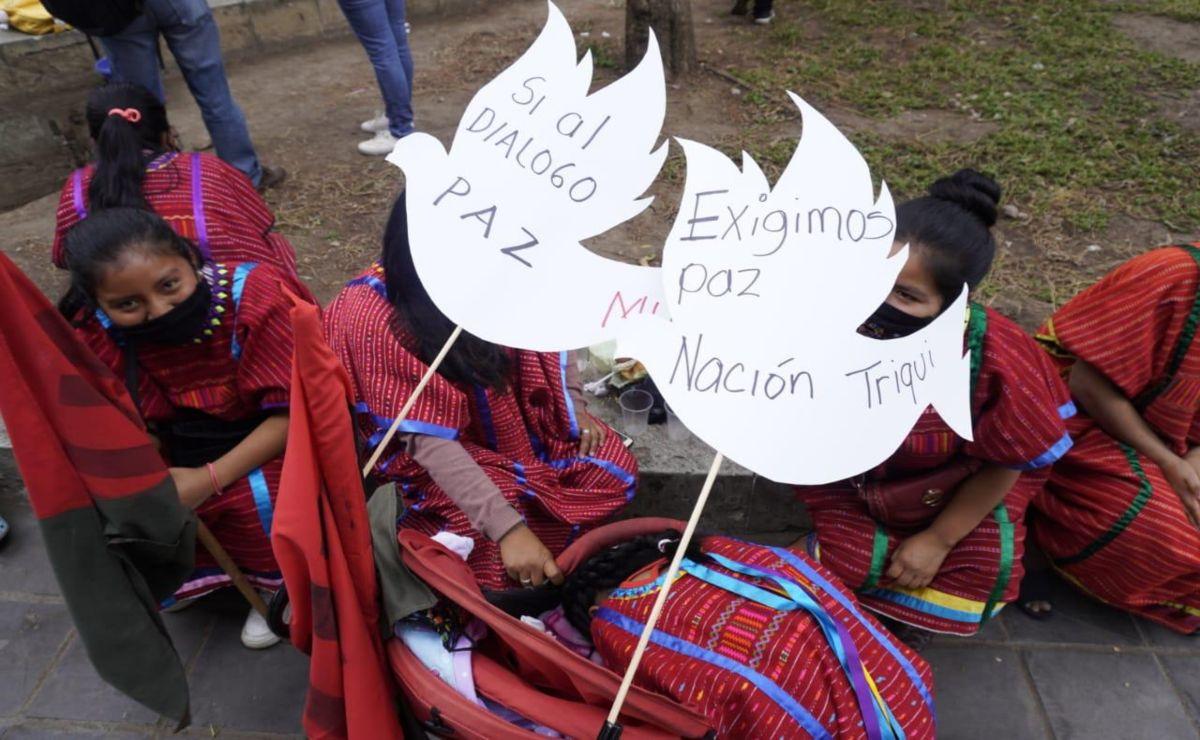 Estado mexicano no garantiza gobernabilidad ni retorno seguro de desplazados: triquis del MULTI