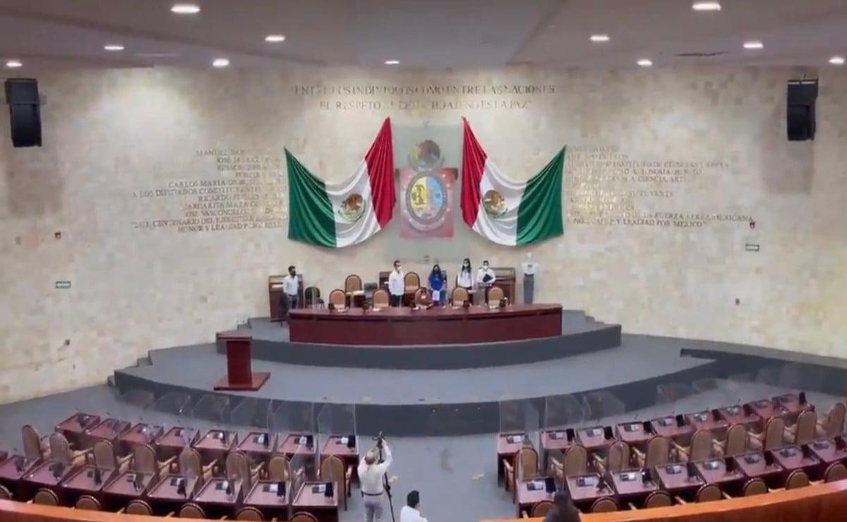 Por hacer campaña, diputados de Oaxaca congelan elección de magistrados del Tribunal de Justicia