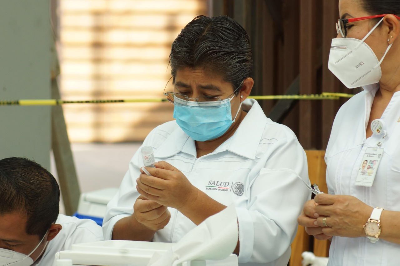 Oaxaca reporta 333 contagios activos de Covid-19 y 102 pacientes hospitalizados