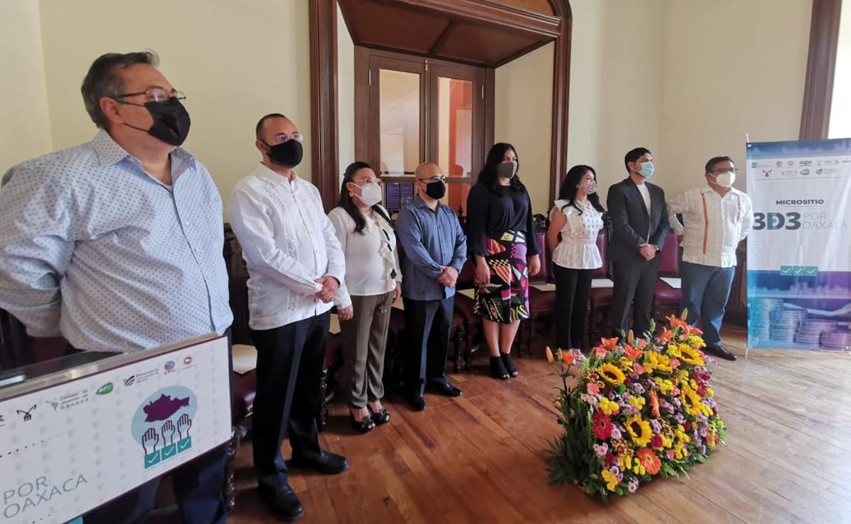 Presentan micrositio 3De3 por Oaxaca, iniciativa ciudadana para que candidatos transparenten sus bienes