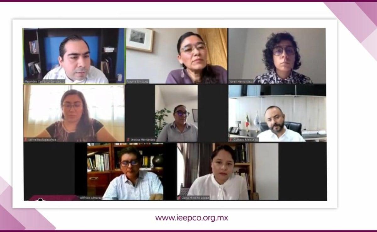 Aprueba Instituto Estatal Electoral de Oaxaca realización de debates virtuales entre candidatos