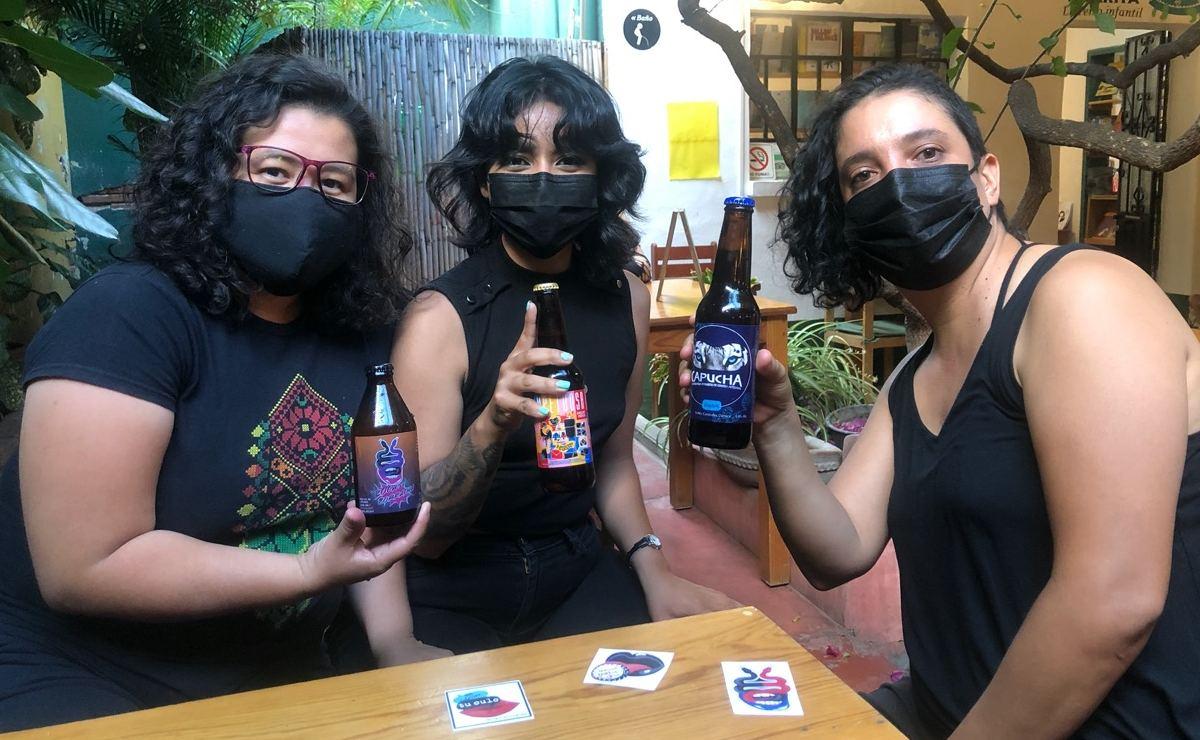 Mujeres de Oaxaca y otros territorios crean Impetuosa, chela feminista pensada para salvar vidas