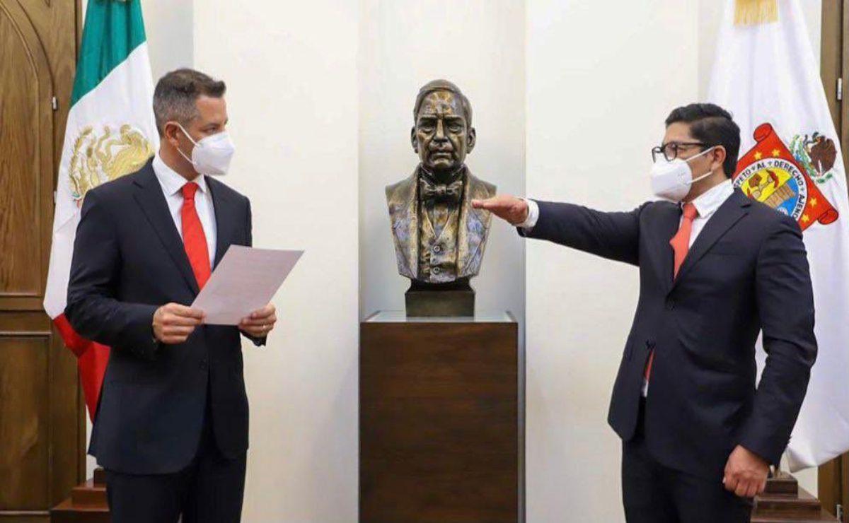Designa Murat dos nuevos magistrados del Tribunal de Justicia de Oaxaca; llega Molina pese a críticas