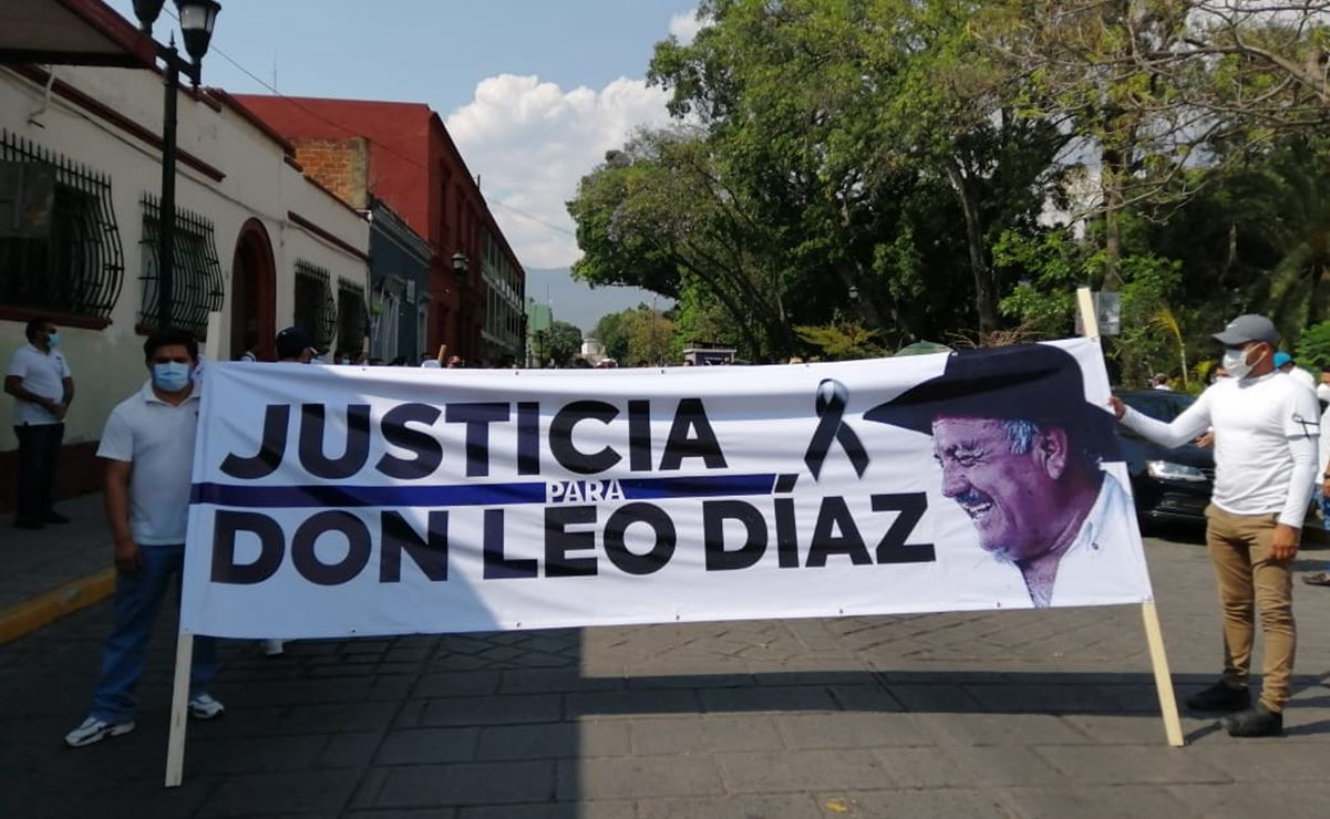 Caen tres y los vinculan a proceso por asesinato de Leonardo Díaz, padre de la líder del PAN en Oaxaca