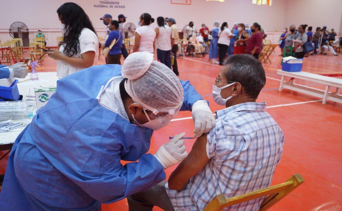Anuncian en Oaxaca arranque de vacunación anti Covid para personas de 50 a 59 años; habrá 4 sedes en la capital