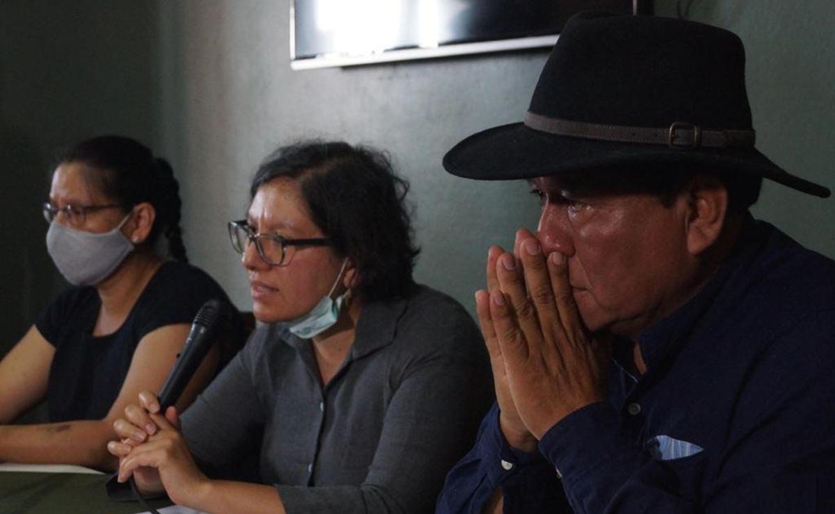 """Hermanas de activista celebran detención de edil de Nochixtlán; """"no vamos a parar hasta encontrarla"""""""
