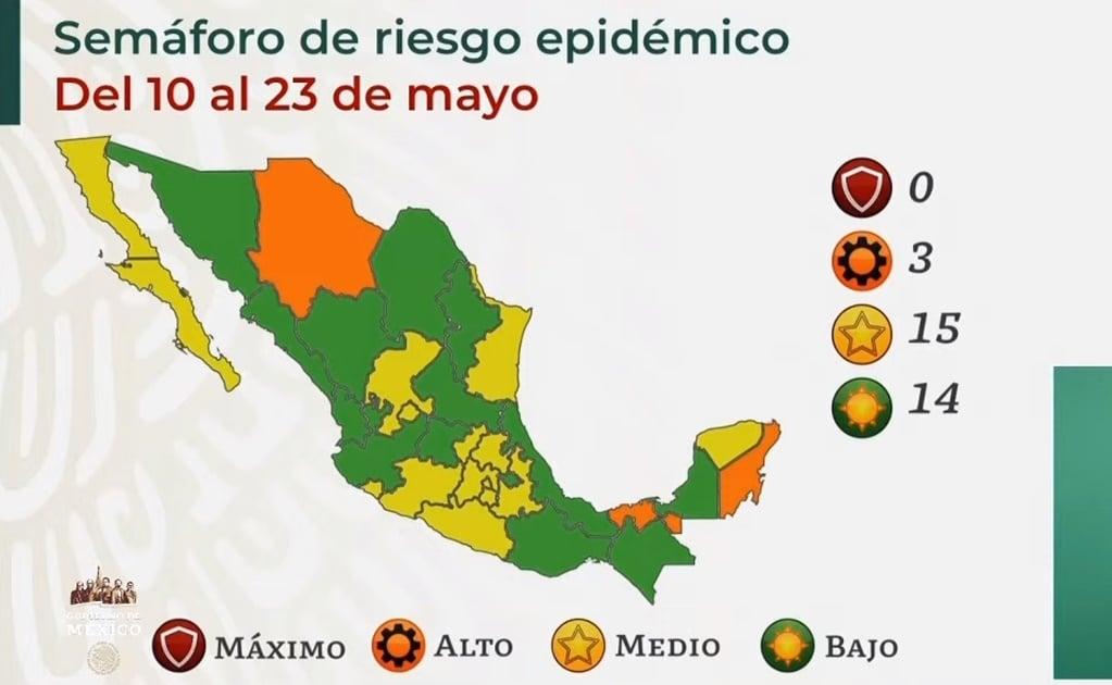 Regresa Oaxaca a verde en el semáforo de riesgo Covid-19; hay 304 casos activos