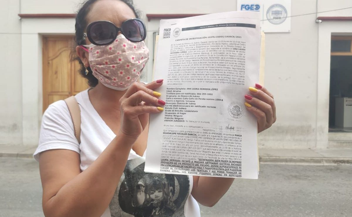 Presidenta del Comité Prodefensa de las Mujeres Reclusas de Tanivet denuncia amenazas y daño moral