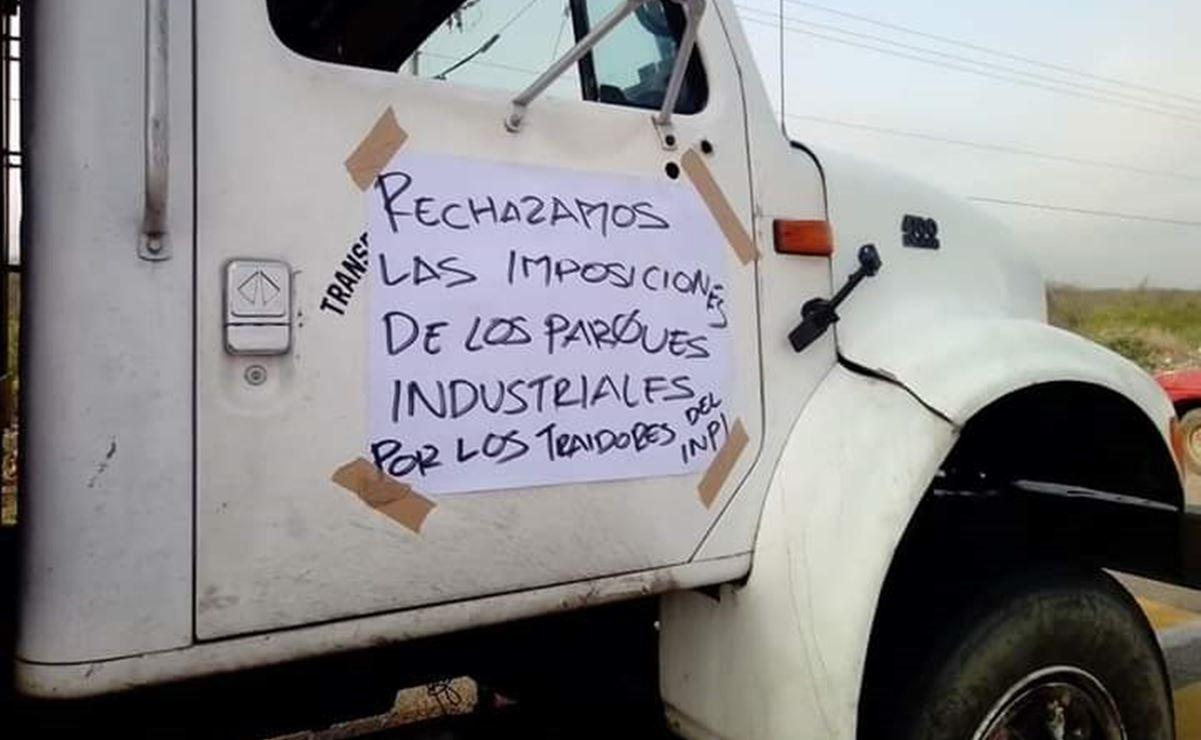 Comuneros de San Blas rechazaron parque industrial del Interoceánico; piden que informen afectaciones