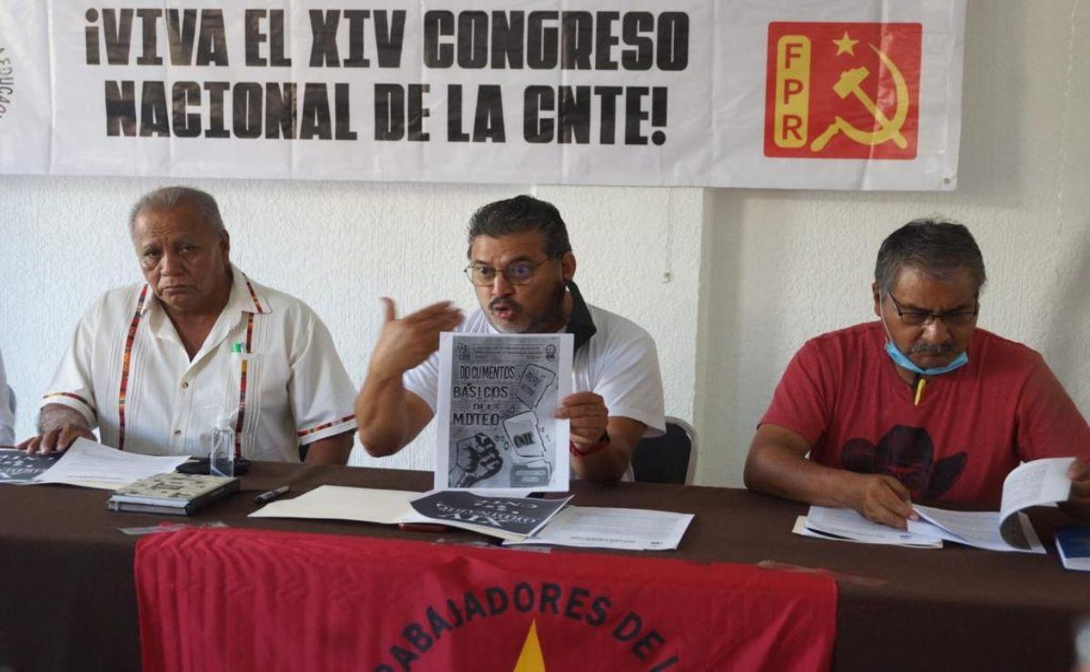 UTE acusa a dirigentes de la Sección 22 de negociar candidaturas con Morena en Oaxaca