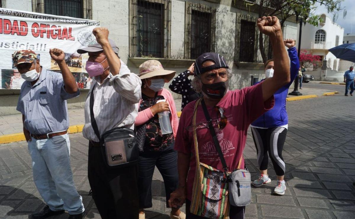 Víctimas y ex-presos políticos de Oaxaca anuncian lucha legal por reforma constitucional de DDHH