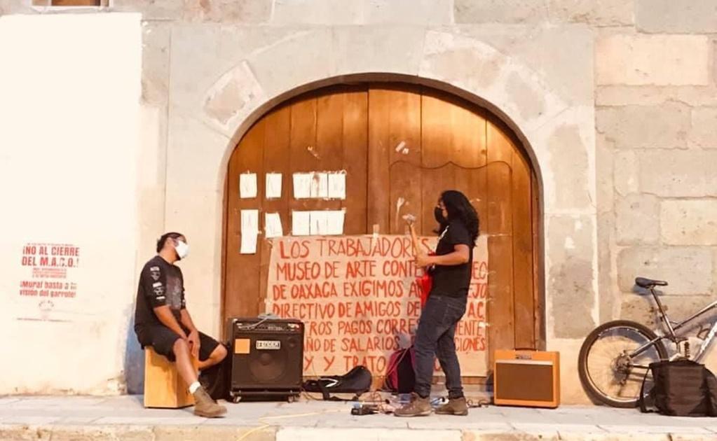 Ante cierre del Museo de Arte Contemporáneo de Oaxaca, artistas exigen devolución de obras