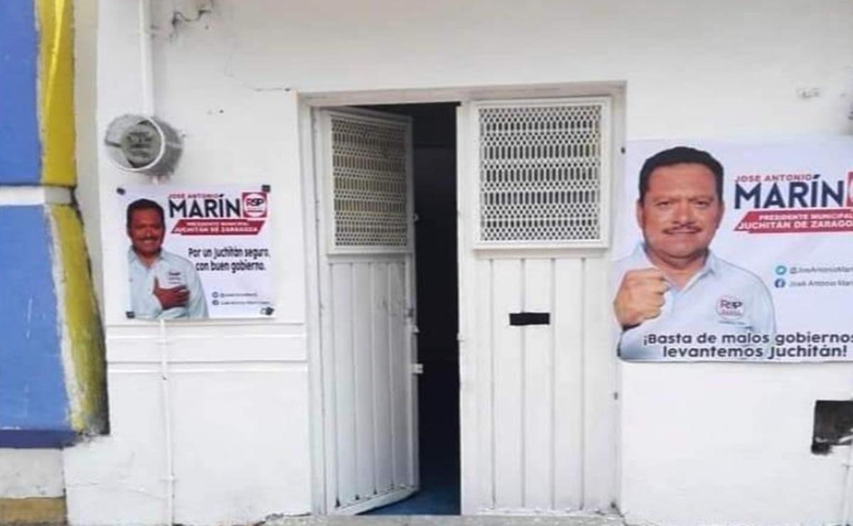 Roban casa de campaña de RSP y se llevan estrategia de campaña de candidato a edil de Juchitán